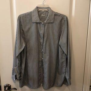 Foxcroft women's size 10 button up blouse